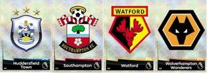 Match Attax 2018/19 - Huddersfield - Southampton - Watford - Wolves