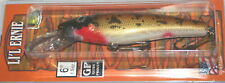 "6"" Little Ernie Musky Mania Pike Crankbait Lure Walleye LE-49 Drifter Tackle"