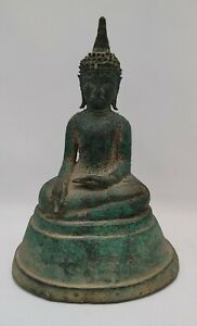 Early Antique Thai Bronze Buddha