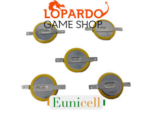 🌟5X Tabbed Eunicell Battery Replacement CR1616 Pokemon Yellow Ruby Game Boy🌟