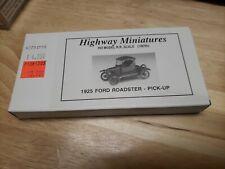 HO Jordan Highway Miniatures 1925 Ford Roadster Pick Up #360-213
