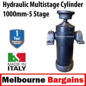 Hydraulic Ram Cylinder for Tipper Trailer kit - 1000mm - 5 tonne Hydraulic Ram