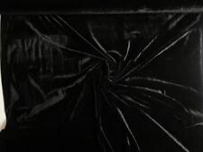% HOCHWERTIG BI-STRETCH SAMT STOFF - SEIDIGER SCHIMMER STOFFE ~9 FARBEN #DC