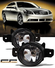 For 2008-2010 Infiniti M35 M45 Front Replacement Fog Light Housing Clear Lens