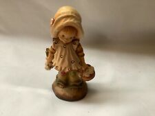 """Anri Woodcarving Sarah Kay 4"""" Limited Edition 1008/4000 'Flowers For You'"""