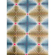 African Illusion Print Fabric BY 1/2 YARD Ankara kitenge fancy wax p1252