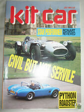 Kit Car Jul 1989 Ronart, Python Roadster