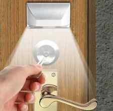 Auto PIR Sensor Infrared IRWireless Motion Detector Door Keyhole LED Light Lamp@