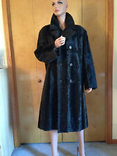 DENVER CREATION DESIGNER BROWN GENUINE MINK FUR LONG COAT OUTWEAR 48 / 18 - 1X