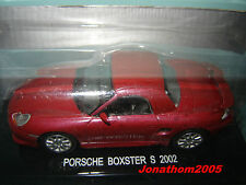 PORSCHE BOXSTER S de 2002 au 1/43°