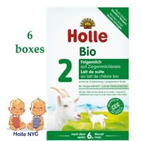 Holle Organic Goat Milk Formula Stage 2 400g FREE SHIPPING 6 BOXES 05/2020