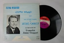 Jimmy Swaggart, Flying Missiles, Atomic Bombs, Vinyl 16rpm