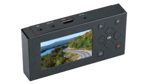 """2-In-1 AVI Video Recorder Player MP3 Recorder Player HDMI RCA Out 3"""" LCD Screen"""
