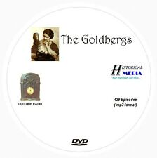 THE GOLDBERGS - 429 Shows Old Time Radio In MP3 Format OTR On 1 DVD
