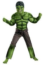 Disguise The Avengers Hulk Classic Muscle Chest Child Costume 10 12