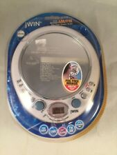 jWIN JX-M55 Splash Proof CD Shower AM/FM Alarm Radio w/ Fog Free Mirror