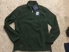 NWT Croft & Barrow: Mens Artic Pullover Fleece Jacket Green L MSRP $36