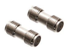 2 Pack - SMA Female to Female Coupler Adapter Barrel Connector RF Radio Antenna