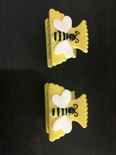 Gymboree Hair Barrettes Barrette GIRLS New Bumble Bee Bees Clip Clips