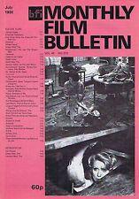 ISABELLE ADJANI / CATHERINE DENEUVE Monthly Film Bulletin Jul 1981