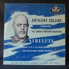 SIBELIUS Symphony No 5 COLLINS NIGHT RIDE DECCA LXT.5083 UK Original LP EX