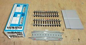 Märklin H0 7593 K Track Expansion For Railroad Crossing 7592 K New Boxed