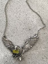 Buho De Harry Potter Hedwig Correo Post Collar Colgante de magia Hogwarts Regalo