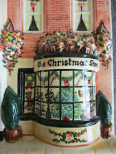 HAZLE CERAMICS NATION OF SHOP KEEPERS CHRISTMAS SHOP