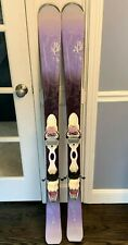 K2 Luvit 76 Used Women's Skis (142 cm) with Marker (10) Bindings