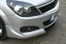 Vauxhall Opel Astra H Mk5 3dr Irmscher frontal Splitter/labio/Cenefa 2004-2010! nuevo!
