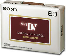 1 Sony HDV HD Mini DV tape DVM-63HDR for Canon HV20 HV30 HV40 XLH1S XH A1 G1 H1