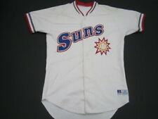 42 Jacksonville Suns Rawlings player worn game jersey Mariners affiliate