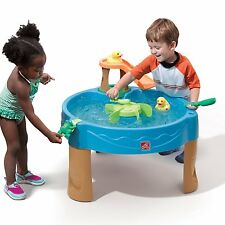 Step2 Kids Water Activity Table Toddler Outdoor Toys Waterpark Children Play Set
