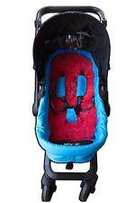 Sale Sheepskin Pushchair  Pram Car Seat Liner Mat for Five-Point *Girl*