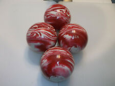 Candlepin Balls/REFINISHED/Epco Olympics/4 Ball Set/2lbs 6.20oz/Perfect Cond