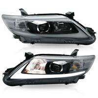Customized LED Headlights with DRL Sequential Turn Signal for 10-11 Toyota Camry