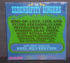 The Serendipity Singers Songs By Shel Silverstein sealed LP vinyl record cut out
