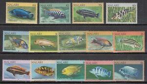 Malawi - Mail Yvert 413/7 MNH Fauna Fish