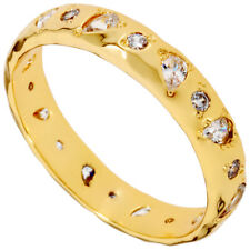 Gorjana Collette Gold Ring With White CZ Size 8 1810303802G