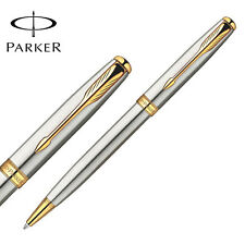 Parker Sonnet Ballpoint Pen Gold Clip Parker Ball point Pen Refill Business H6