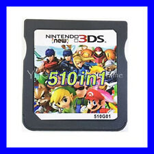 510 In 1Video Games Cartridge Cards For DS NDS 2DS 3DS NDSI NDSL