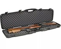 Plano DOUBLE Gun Case Rifle Shotgun Two Scope Hard Carry Case Padded !!