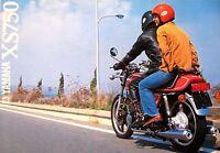 1979 Yamaha XS750 Motorcycle Brochure, Original 3 cyl 79