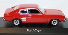 Maxichamps 1/43 Scale 940 085801 Ford Capri MK1 1969 Red Black Diecast model car