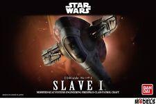 Star Wars SLAVE 1 Boba Fett 1/144 Bandai/Revell 01204 Plastic Model Kit New