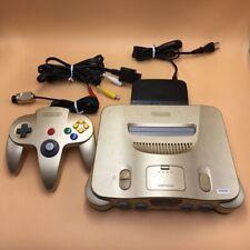 P9696 Nintendo 64 N64 console Gold japan w/Controller set * Express