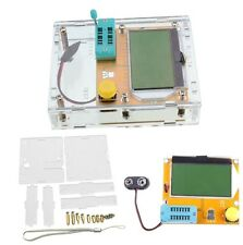 1PCS Clear Acrylic Case Shell Housing For LCR-T4 Transistor Tester ESR SCR/MOS S