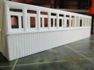 55n3 Open Balcony Coach Narrow Window With Matchboard Sides.