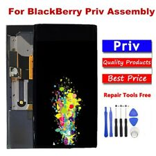 For BlackBerry Priv STV100-1 LCD Display Touch Screen Digitizer Assembly + Tools