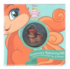 Disney Whisker Haven Tales Treasure's Adventures Storybook Plus Collectible Toy